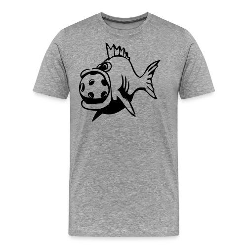 fiskarna ai - Premium-T-shirt herr