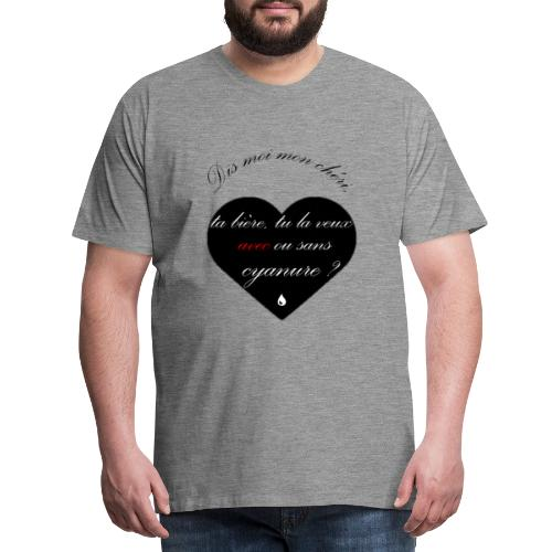 cyanure - T-shirt Premium Homme