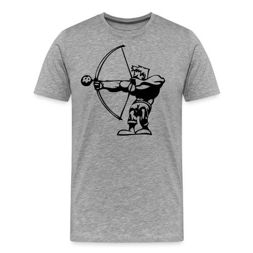 skytten ai - Premium-T-shirt herr