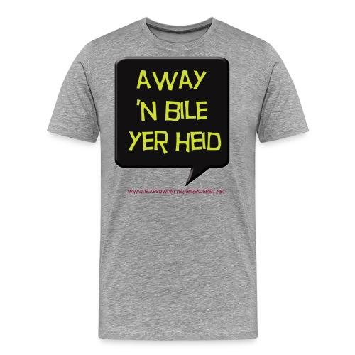 awaynbileyerheid - Men's Premium T-Shirt