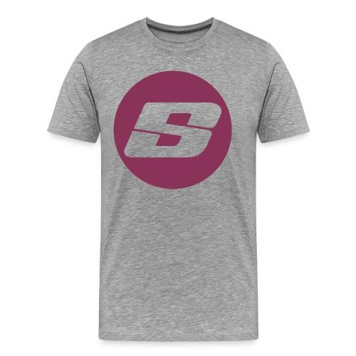 Barbell Strength Classic - Mannen Premium T-shirt
