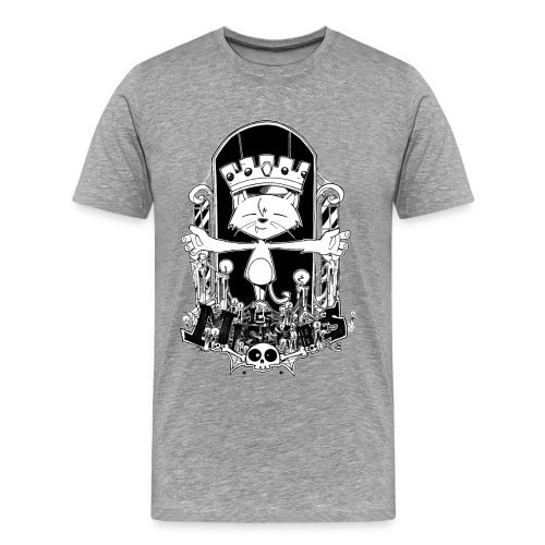 gato2 png - Men's Premium T-Shirt