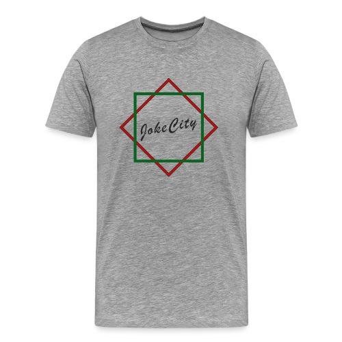 joke city logo - Men's Premium T-Shirt