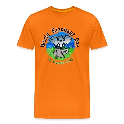 World Elephant Day 2018 - Männer Premium T-Shirt