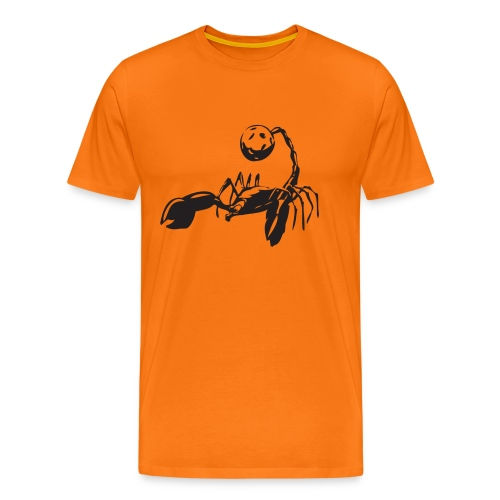 skorpionen - Premium-T-shirt herr