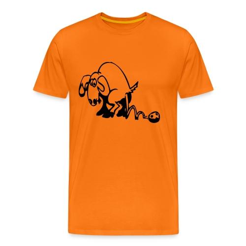 väduren ai - Premium-T-shirt herr