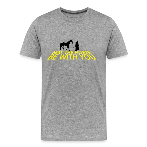 May the horse be with you - Mannen Premium T-shirt