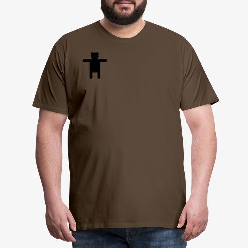 Epic Ippis Entertainment logo desing, black. - Men's Premium T-Shirt
