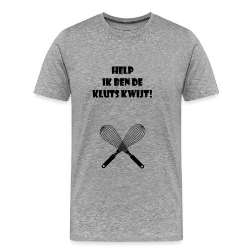 De kluts kwijt - Mannen Premium T-shirt