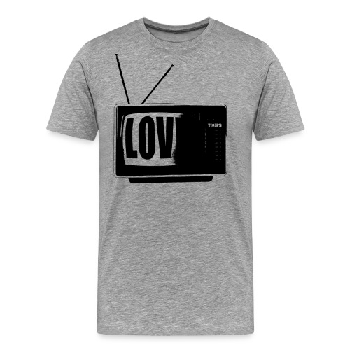 tomas kowal - love - Männer Premium T-Shirt