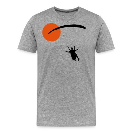 Happy Landing - Männer Premium T-Shirt