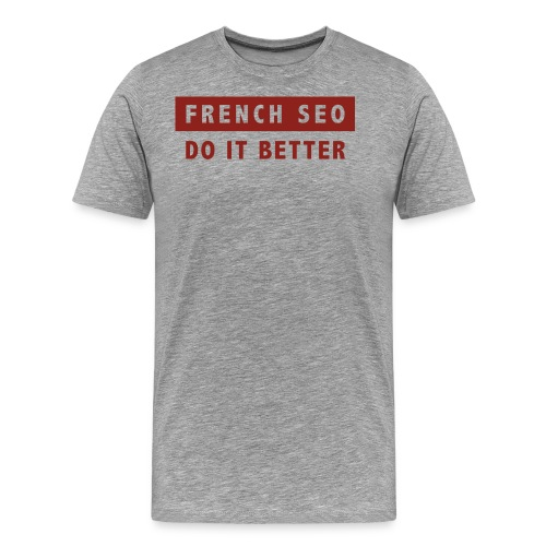 french-seo-red - T-shirt Premium Homme