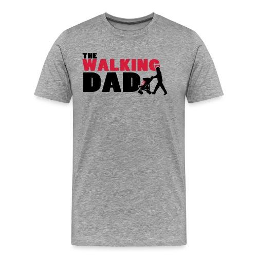 WalkingDAD_01_2Farben - Männer Premium T-Shirt