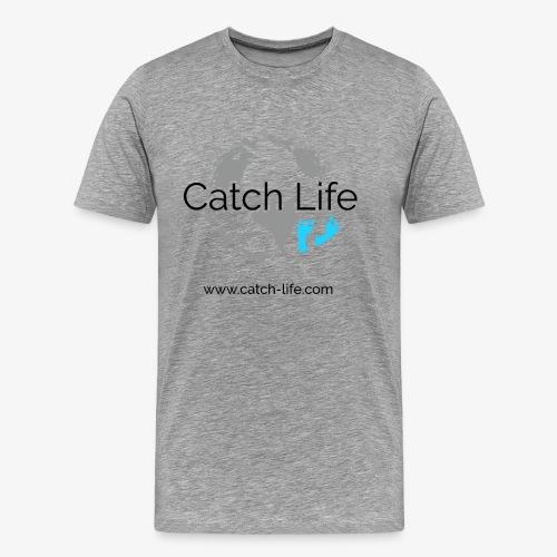 Catch Life Logo - Men's Premium T-Shirt