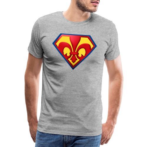 Fabulous Scout - Lilie im Wappen - Männer Premium T-Shirt