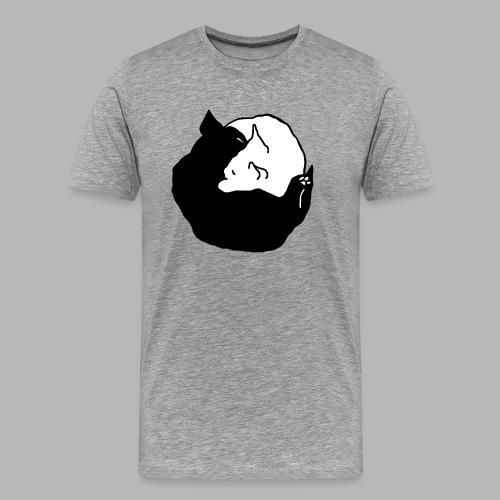 YingYang - Männer Premium T-Shirt