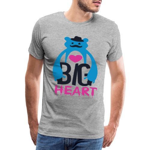 Big Heart Monster Hugs - Men's Premium T-Shirt