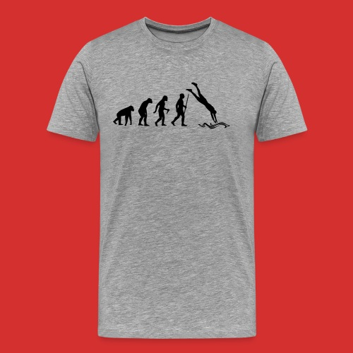 T-Shirt Cliff jumping - T-shirt Premium Homme