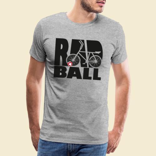 Radball | Typo Black - Männer Premium T-Shirt