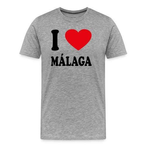 I love Malaga - Männer Premium T-Shirt