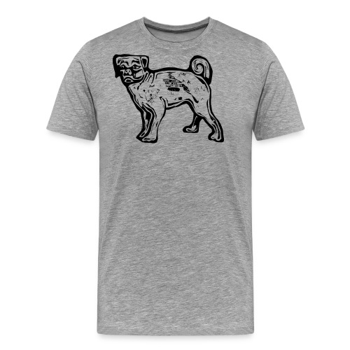 Pug Dog - Men's Premium T-Shirt