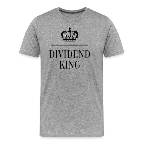 Dividend King - Miesten premium t-paita