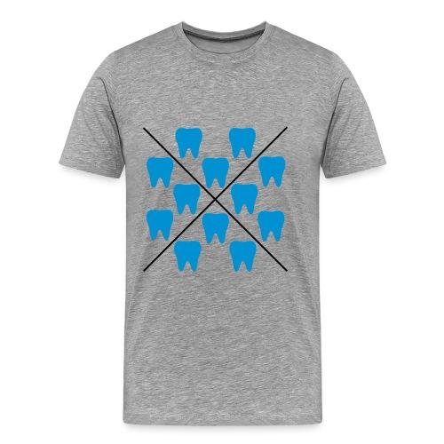 Zähne - Männer Premium T-Shirt