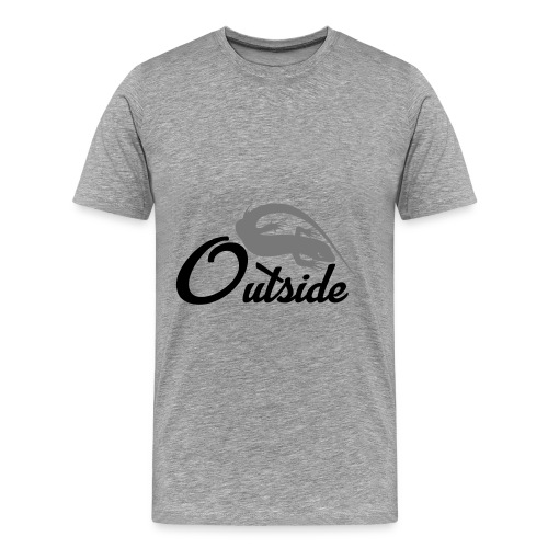 Outside - Männer Premium T-Shirt