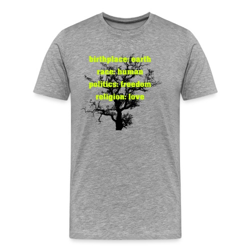Humanity - Männer Premium T-Shirt