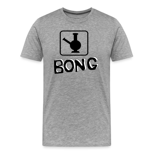 Bong Vase - Männer Premium T-Shirt