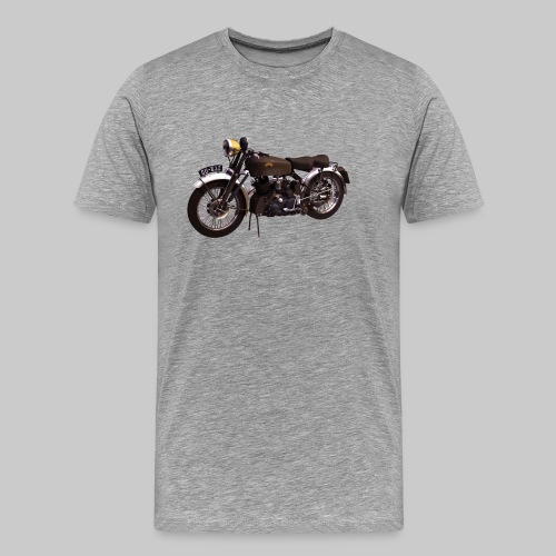 Black Shadow vintage motor bike - Men's Premium T-Shirt