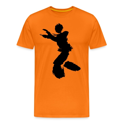 Wing Chun / Kung Fu Tusche Figur VEKTOR - Men's Premium T-Shirt