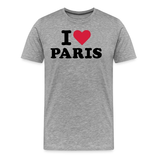 I Love Paris 3 - T-shirt Premium Homme