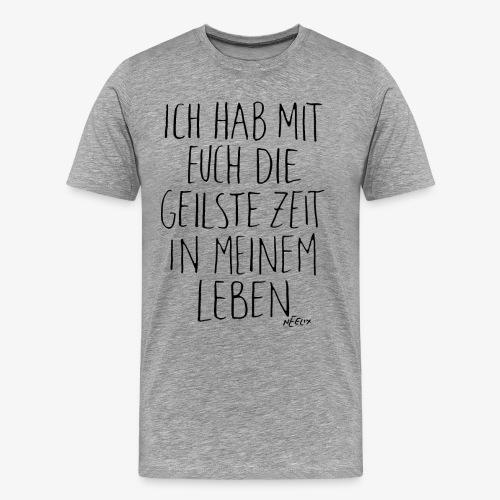 Neelix Geilste Zeit schwarz - Männer Premium T-Shirt