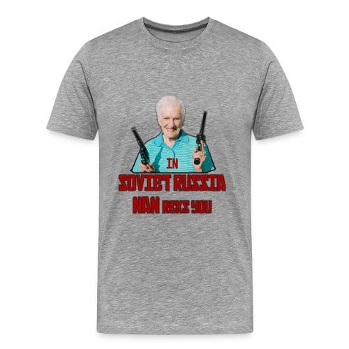 Russian nan png - Men's Premium T-Shirt