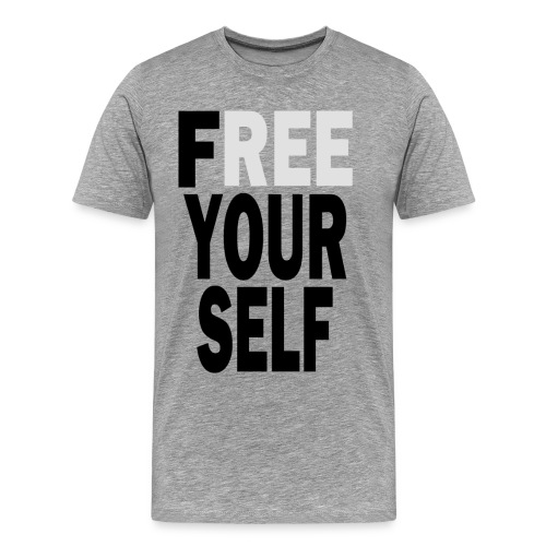 Free Yourself Black - Men's Premium T-Shirt