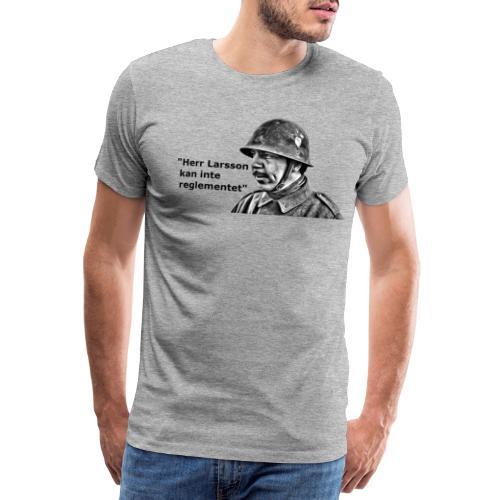 Herr Larsson kan inte reglementet! - Premium-T-shirt herr