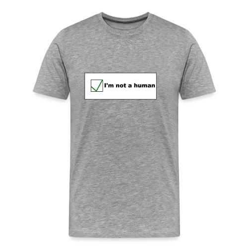 Human Captcha - Männer Premium T-Shirt