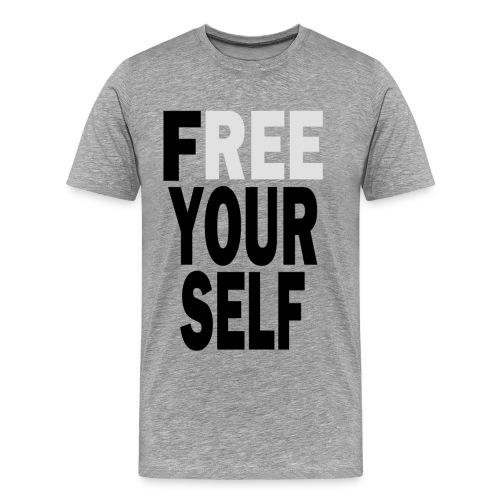 Free Yourself Black - Men's Premium T-Shirt