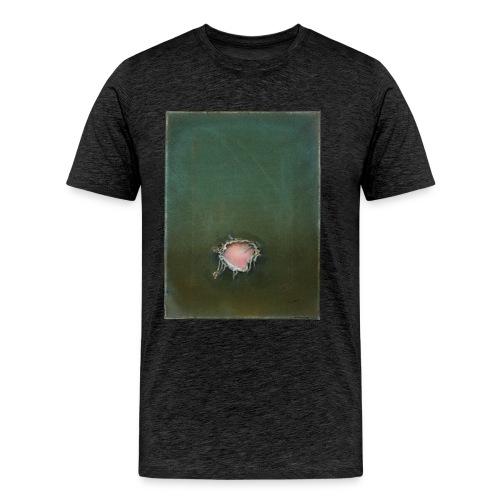 Loch Öl auf Leinwand - Männer Premium T-Shirt