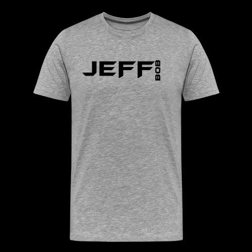 Jeff Bob Logo - Men's Premium T-Shirt