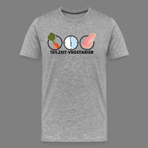 Teilzeit-Vegetarier - Männer Premium T-Shirt