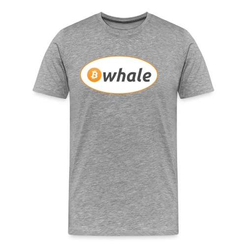 Bitcoin Whale - Men's Premium T-Shirt