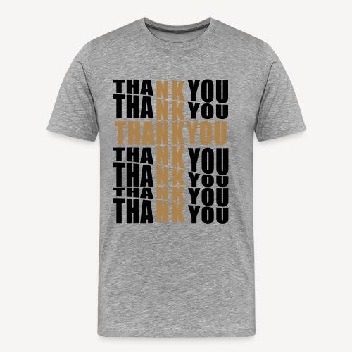 THANK YOU FOR THE CROSS - Men's Premium T-Shirt