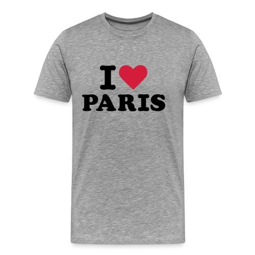 I Love Paris 3 - T-shirt Premium Homme