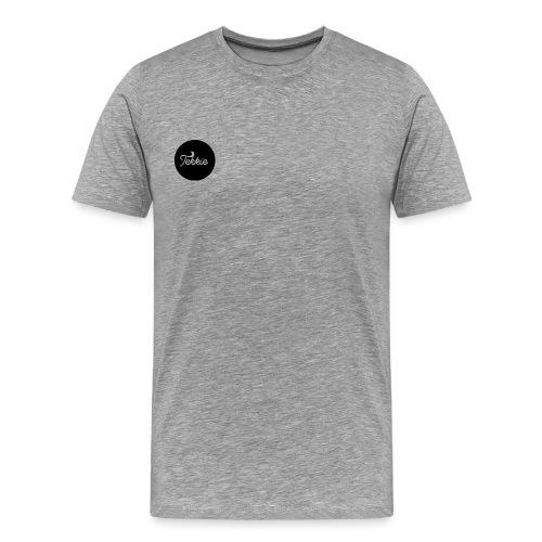 Tekkie Black Logo - Mannen Premium T-shirt