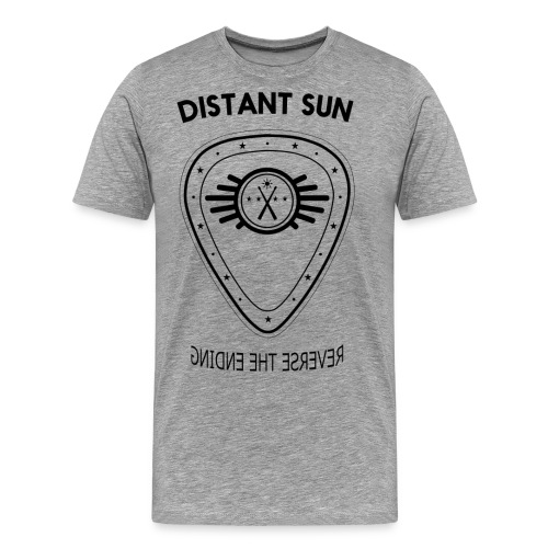 Distant Sun - Mens Standard T Shirt Grey - Men's Premium T-Shirt