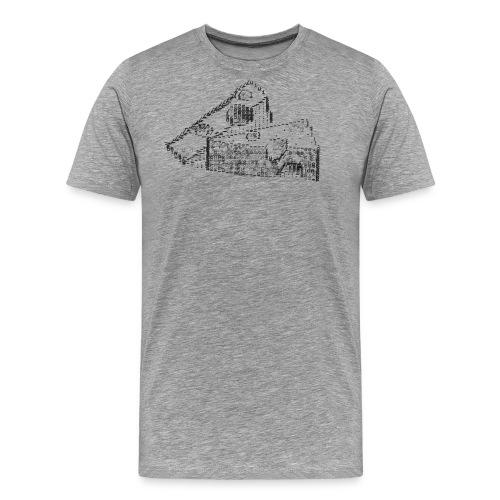 Typewriter Cheese - Männer Premium T-Shirt