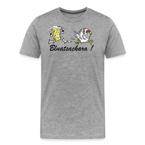 tshirt bunt neu schaum png - Männer Premium T-Shirt
