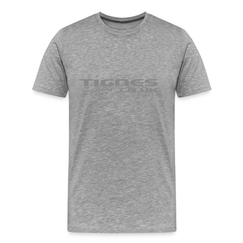 logo grey - Men's Premium T-Shirt